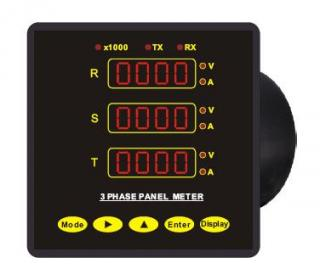CP-3 Series 3 Phase Voltage/Current Meter